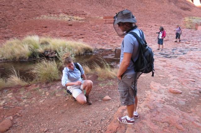 Um guia bom, como a do Longitude 131, rende explicações bem interessantes sobre a geologia do lugar