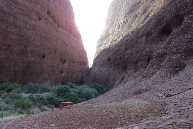 E a vontade de sentar nesse banquinho e meditar?
