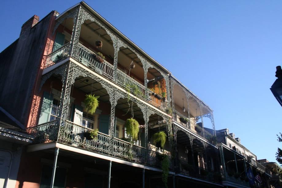 Típica arquitetura de Nova Orleans