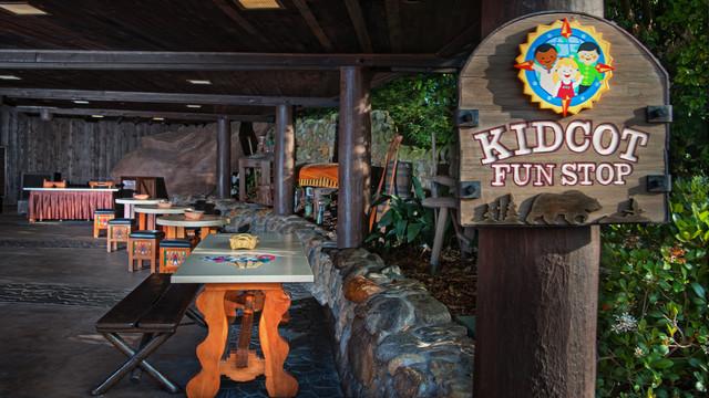 Kidcot Fun Stops (Foto: divulgação Disney)