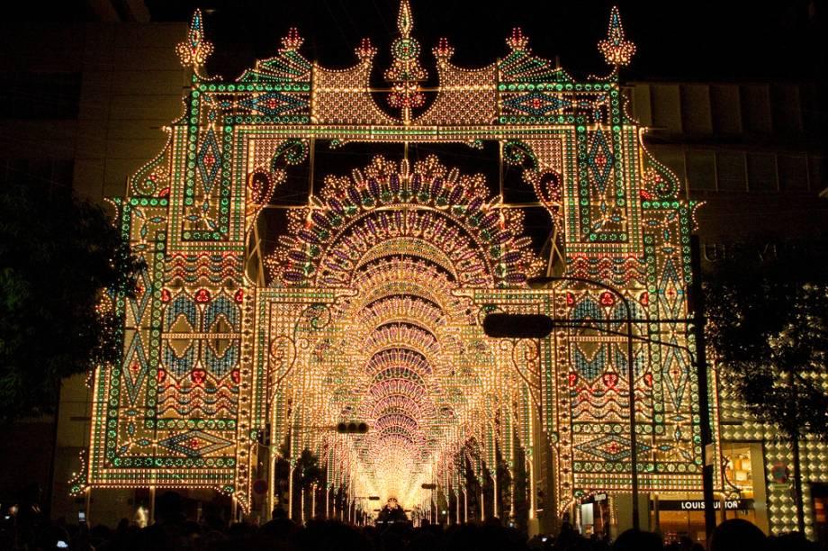 Iluminação de Natal de Kobe