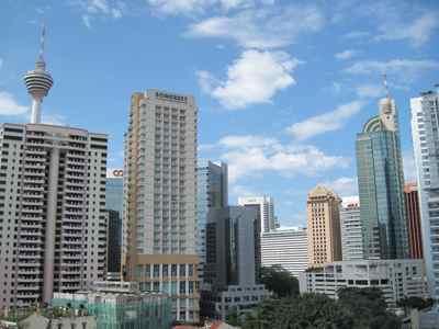 Skyline de Kuala Lumpur: Sudeste Asiático sem perrengue
