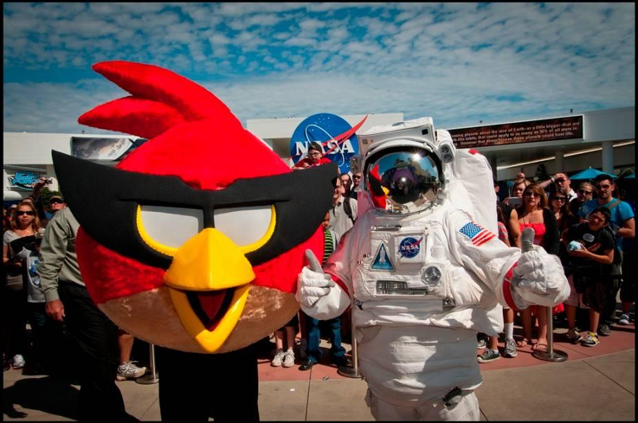Encontre os Angry Birds no Kennedy Space Center
