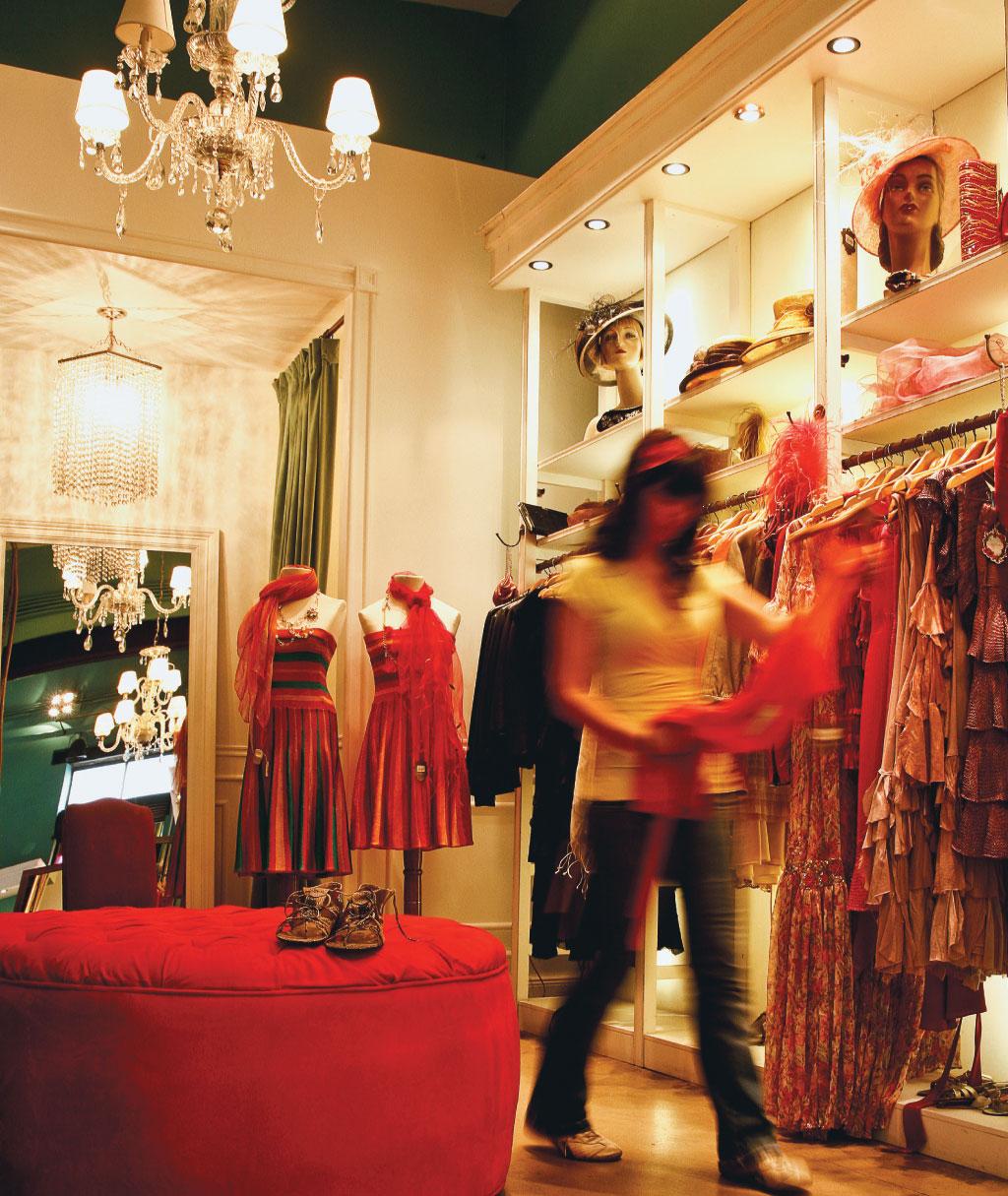 A loja La Merceria, no bairro de Palermo em Buenos Aires, Argentina