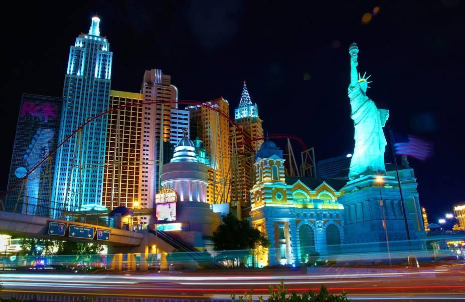Las Vegas é uma cidade voltada ao entretenimento, repleta de hotéis, cassinos, shoews, restaurantes e muito mais