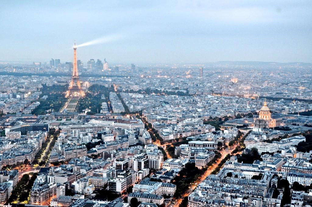 A Torre Montparnasse é a mais alta da cidade