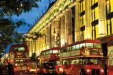 O prédio da Selfridges, magazine na Oxford Street, em Londres, Inglaterra