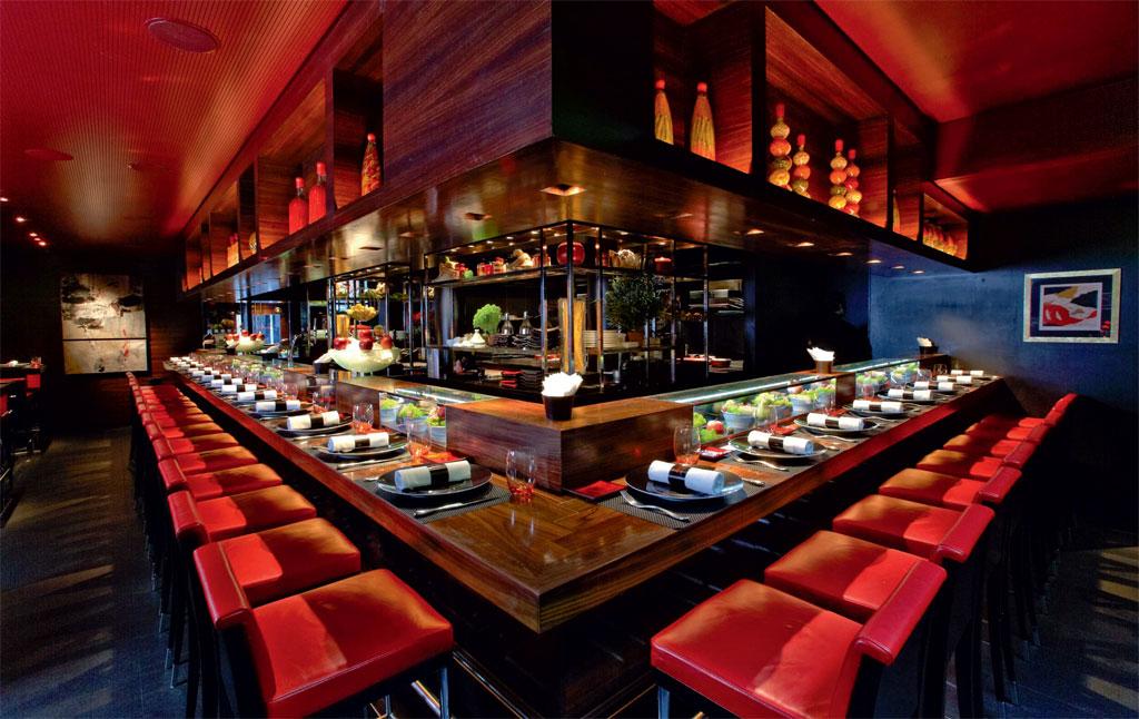 L'Atelier, restaurante duplamente estrelado pelo Michelin em Londres, Inglaterra