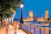 A vista do Big Ben e do Parlamento, em Londres, Inglaterra
