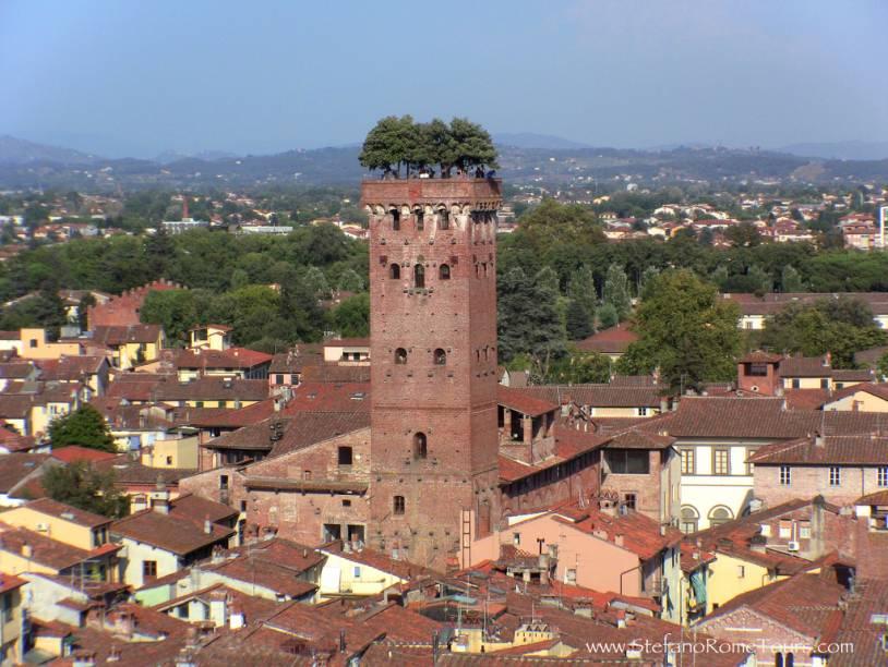 Um teto ecológico na medieval Lucca