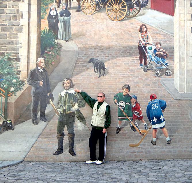 EU FUI: passeios na parte antiga do Québec