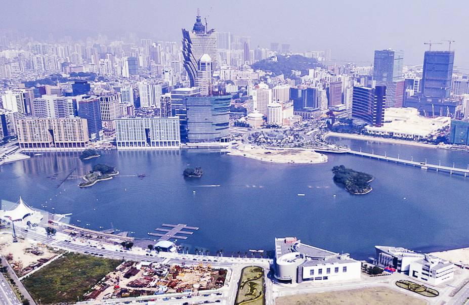 Vista a partir da Macau Tower.