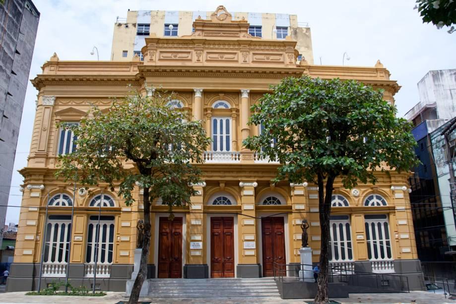 Palácio Rio Branco, sede do Centro da Memória do Poder Legislativo e da História Política do Amazonas, localizado na cidade de Manaus