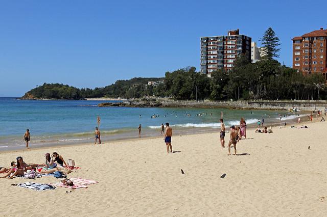 Manly Beach, em Sydney (foto: Nic Tinker/Flirck/creative commons)