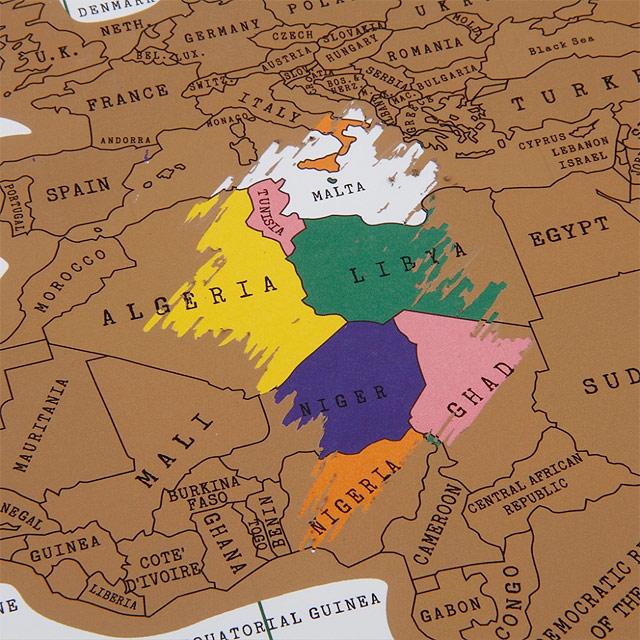 ...E o resto do mundo também (um spolier: vai ser difícil raspar a Líbia)