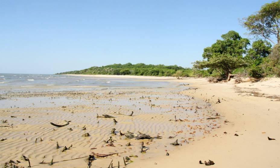 Praia de São João, em Salvaterra, na Ilha do Marajó (PA)