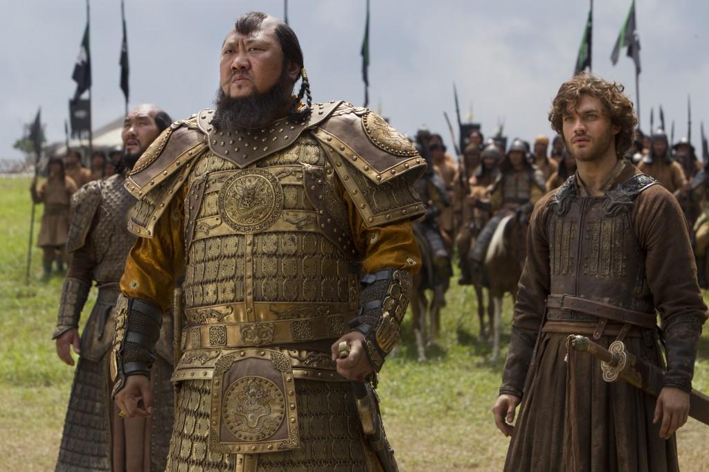 Guerreiros da Netflix: Kublain Khan e Marco Polo no campo de batalha