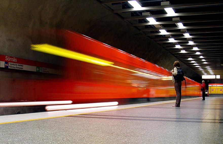 Metrô de Helsinque, Finlândia