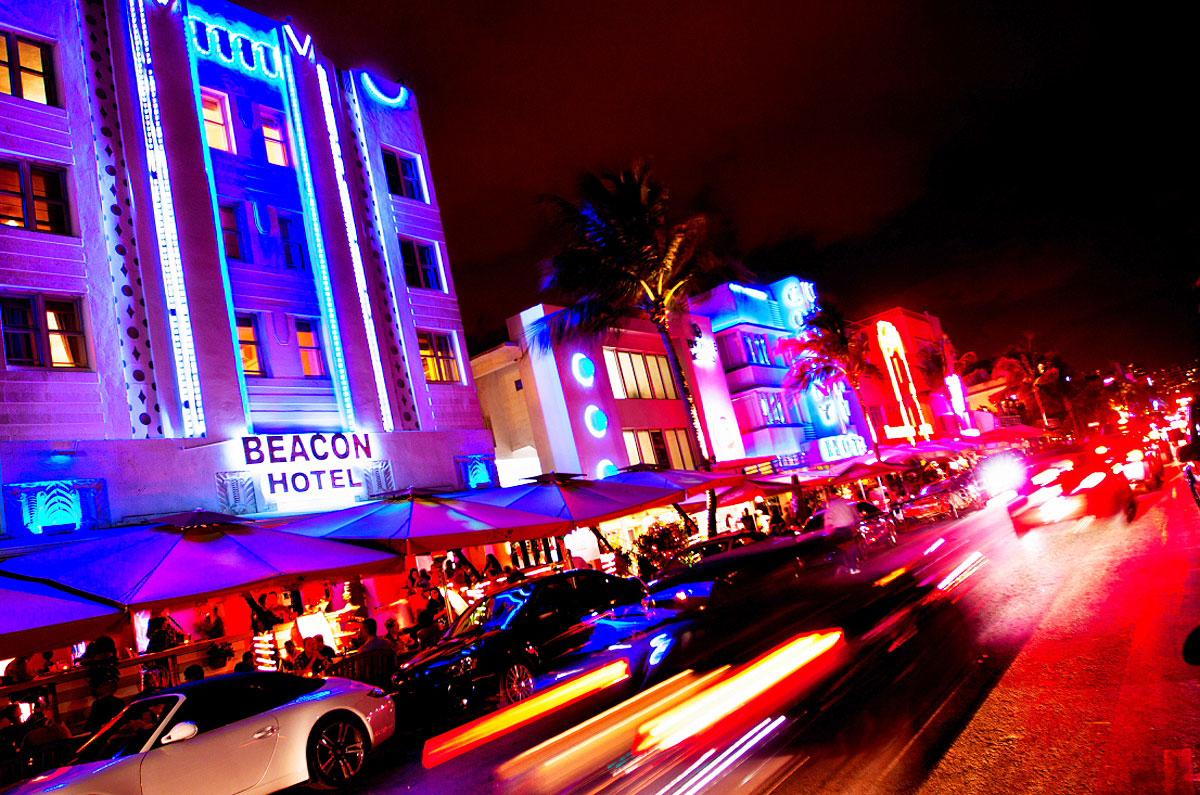 Ocean Drive, em Miami