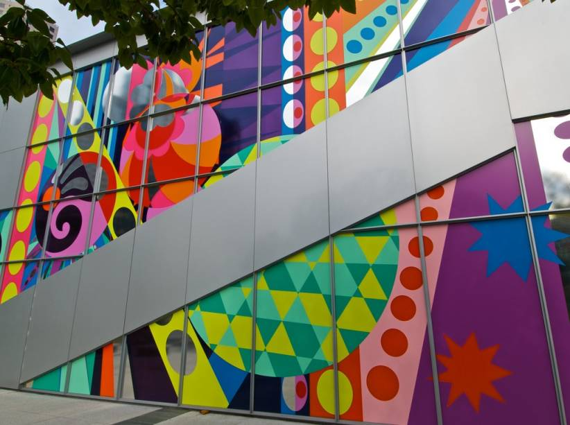 O Yerba Buena Center of Arts é o lugar favorito para a Apple lançar seus produtos, como o iPod e o iPad