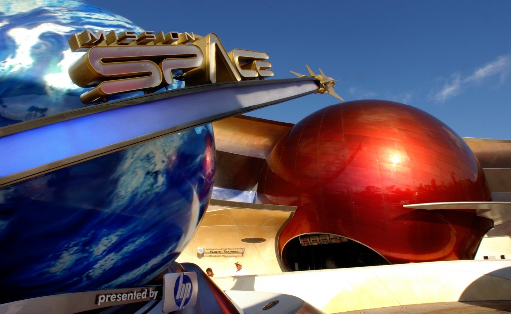 Entrada do Mission: SPACE, no Epcot (Foto: divulgação)