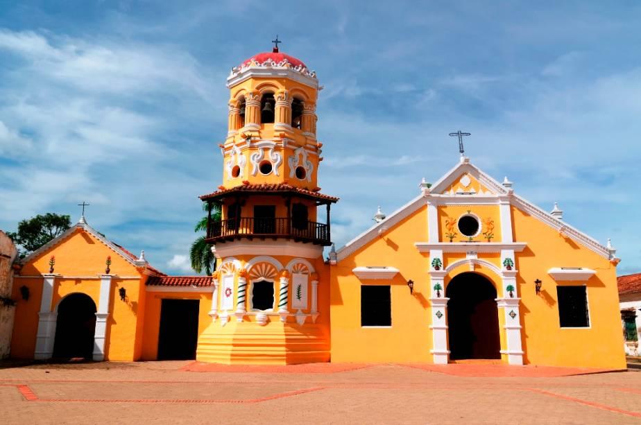 A ilha fluvial de Mompos, no rio Magdalena, é um passeio popular para quem visita Cartagena