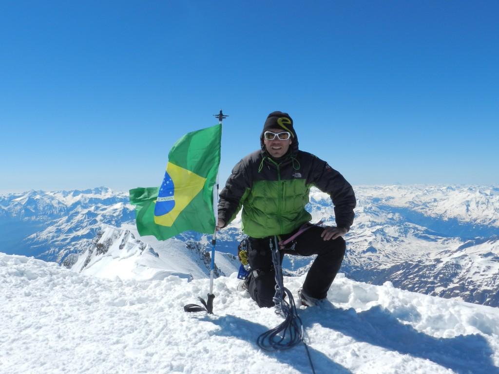 Mont Blanc_Topo Europa Ocidental