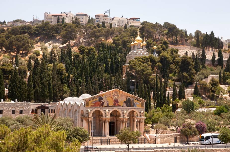 Monte das Oliveiras, em Jerusalém