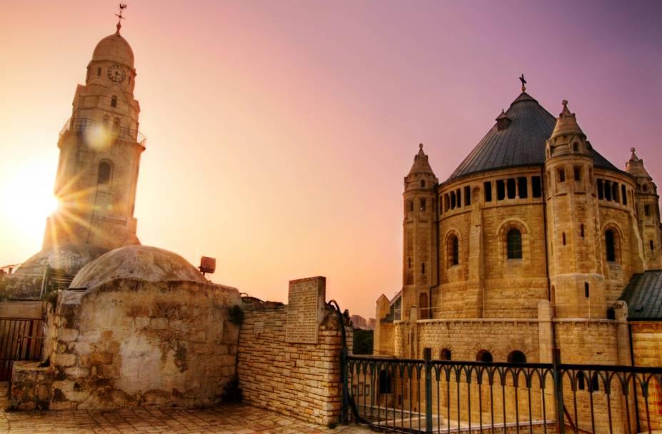Monte Sião, em Jerusalém