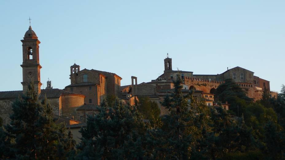 """O """"skyline"""" de Montepulciano"""