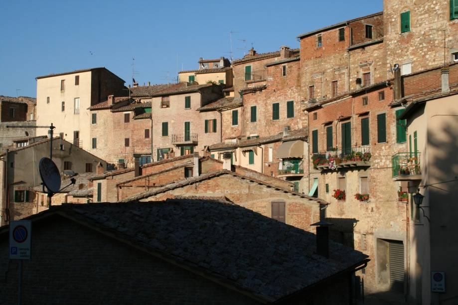 Casario medieval em Montepulciano