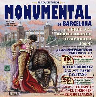 Tourada em Barcelona = show de mulatas em Curitiba