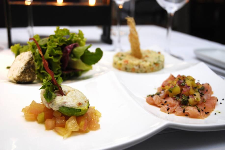Prato da chef Ariani Malouf, servido no restaurante Mahalo, Cuiabá (MT)