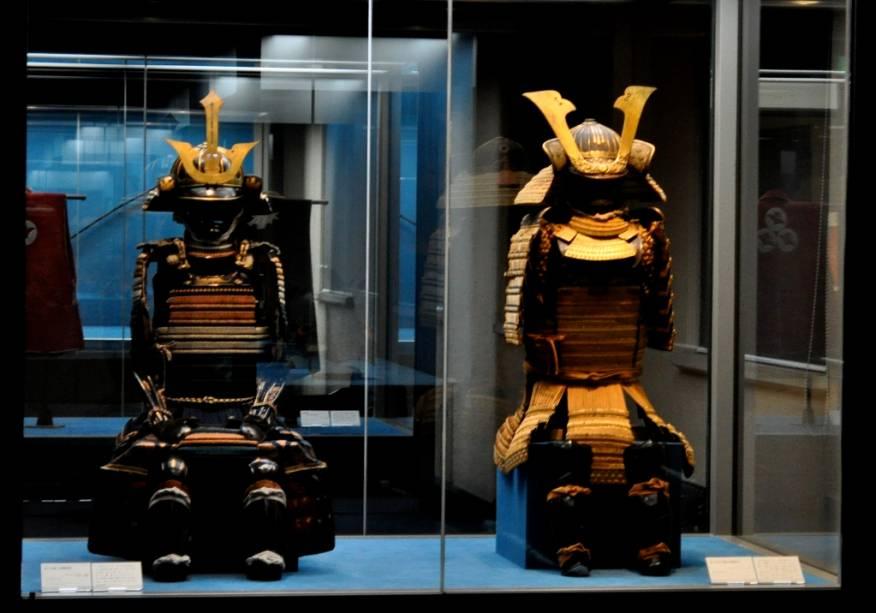 Armaduras Samurai no Museu Nacional de Tóquio