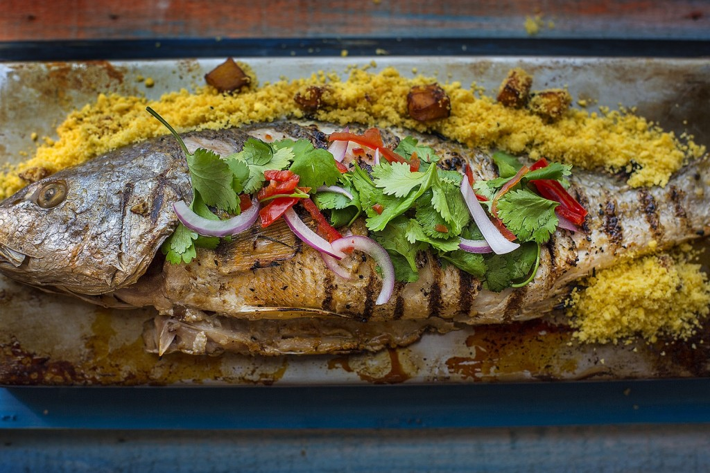 No Suri tem, lógico, um peixe que El Patrón nenhum põe defeito / Divulgação