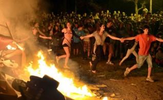 Noite de São João em Barcelona- a festa do ano