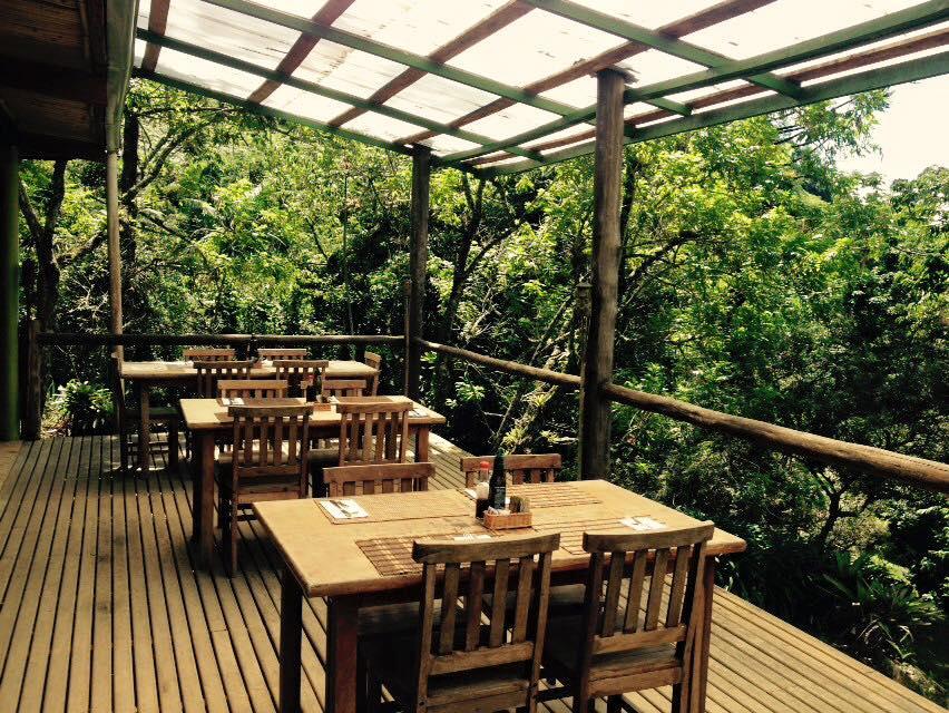 O ambiente do restaurante Serra das Águas / Divulgação