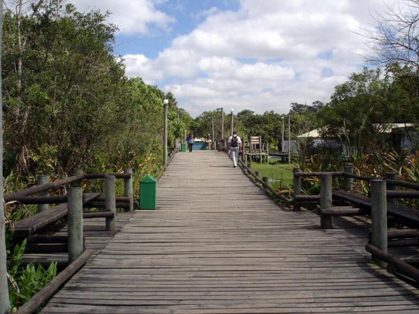 O parque do Guarapiranga recebe 370 mil pessoas no ano / Divulgação
