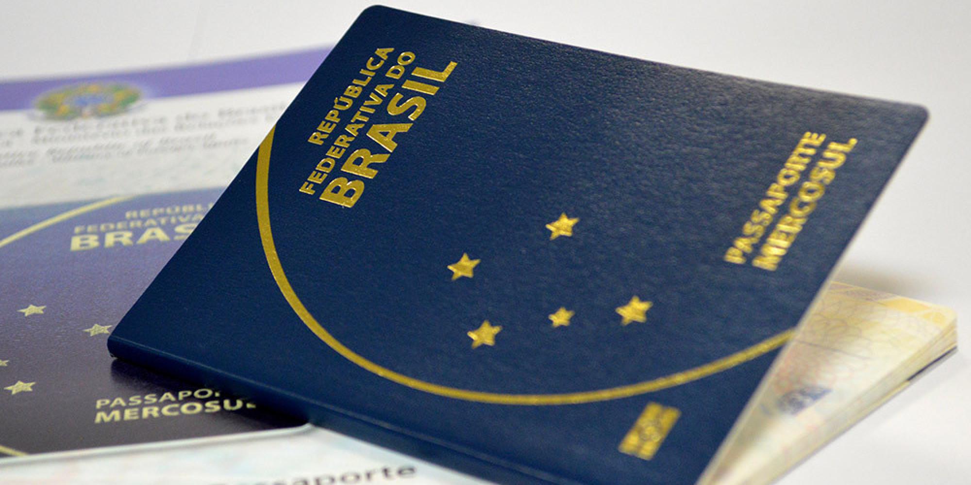 Passaporte brasileiro Mercosul