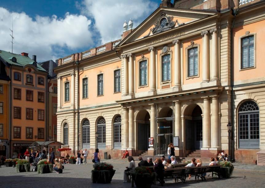 O Museu do Prêmio Nobel, em Estocolmo, conta a história da premiação e de seus laureados nas mais diversas áreas
