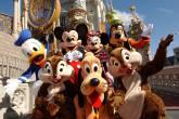 Personagens da Disney no Parque Magic Kingdom