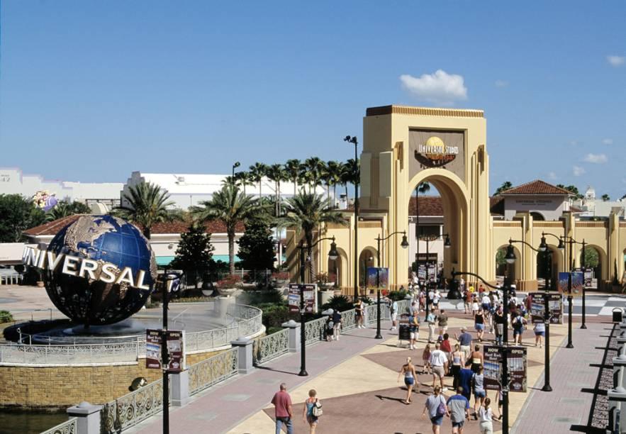 Entrada do Universal Studios, um dos mais procurados por cinéfilos de todo o mundo