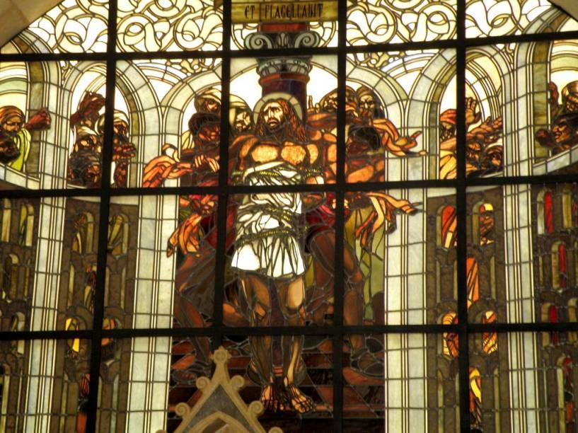 Igreja franciscana da Flagelação, em Jerusalém, considerado por muitos o primeiro passo da via crúcis
