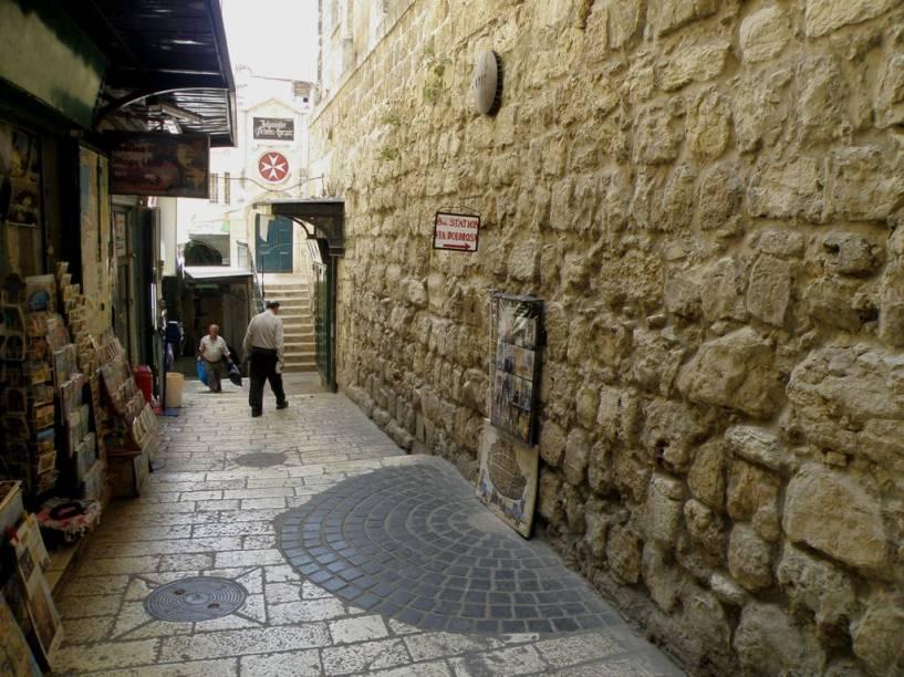 Estação 8 da Via Dolorosa, Jerusalém