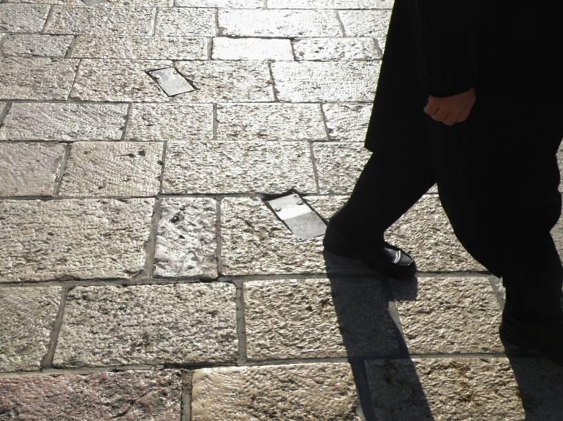 A luz e as pedras brancas de Jerusalém formam um cenário único e poderoso