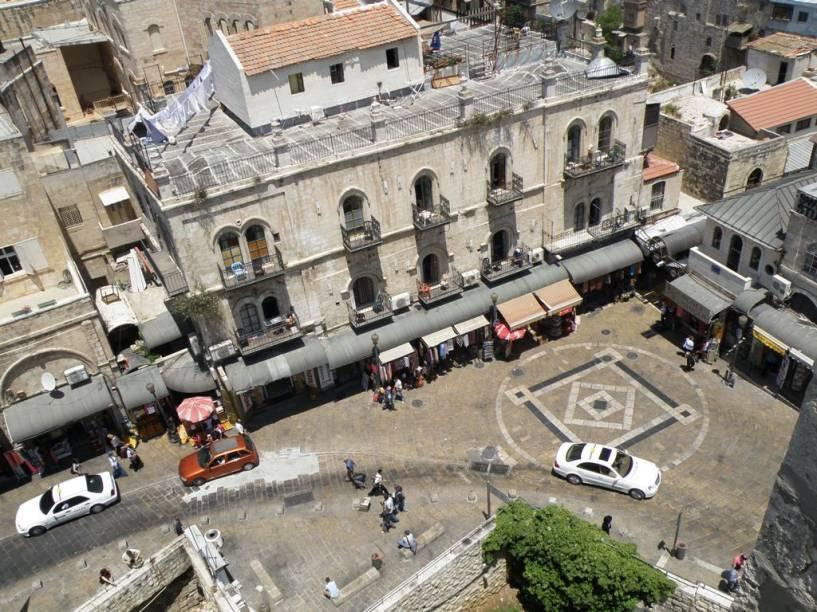 Detalhe da Cidade Velha, junto ao Portão de Jaffa