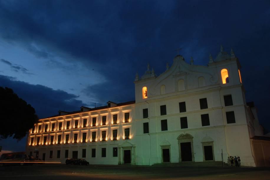 Igreja de Santo Alexandre, uma das primeiras construções da cidade, transformada no Museu de Arte Sacra e espaço para apresentações de música clássica e sacra em Belém (PA)