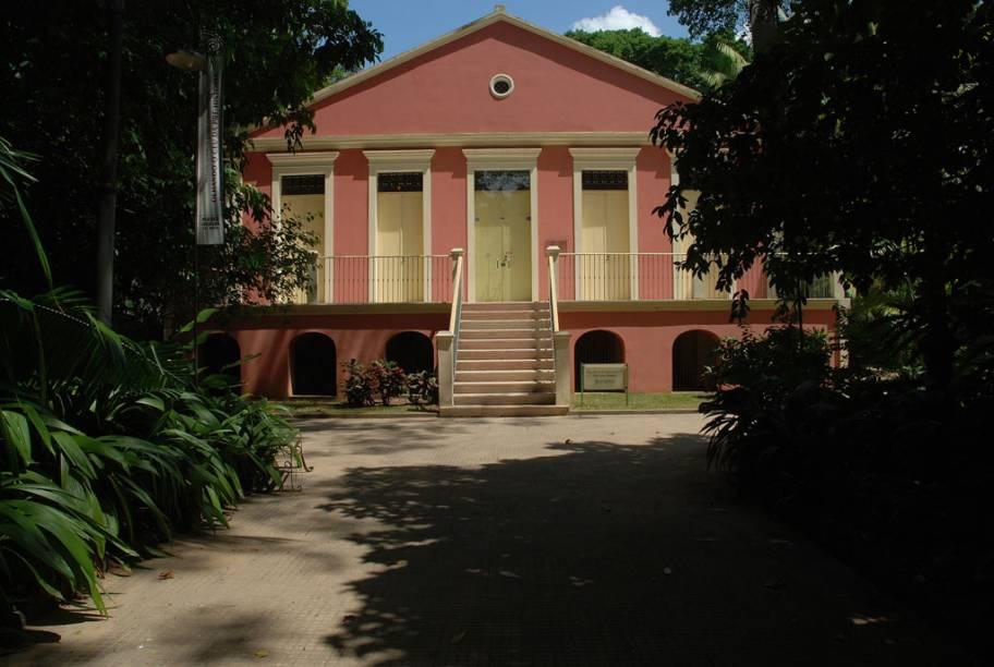 O Museu Paraense Emílio Goeldi em Belém (PA) fica no parque de mesmo nome, abriga mostras temporárias