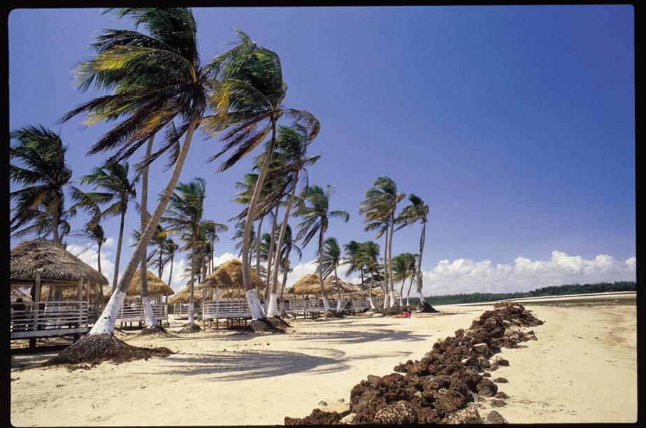 """A Praia do Pesqueiro fica na maior cidade da ilha de Marajó (PA), <a href=""""http://viajeaqui.abril.com.br/cidades/br-pa-soure"""" rel=""""Soure"""" target=""""_blank"""">Soure</a>, e é ótima para turistas"""