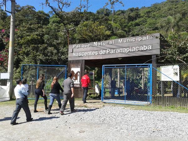 O Parque das Nascentes tem várias trilhas / Divulgação
